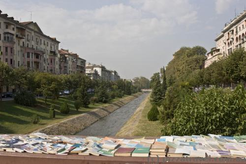 Albanians love to read, books are sold on every street corner.