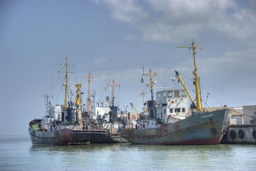 Ships in Genichesk