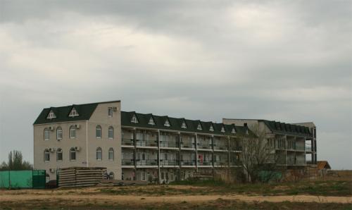Ми жили в цьому готелі.