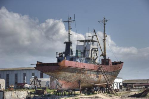 Корабли в Геническе