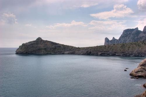 View of cape Kapchik from Golitsyn's trail
