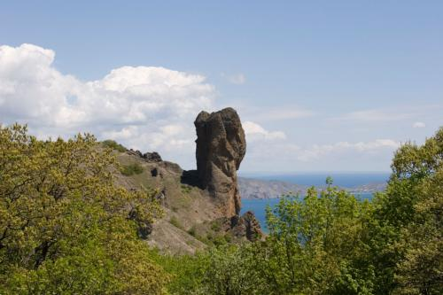 Chertov Palets (Devil's Finger) rock