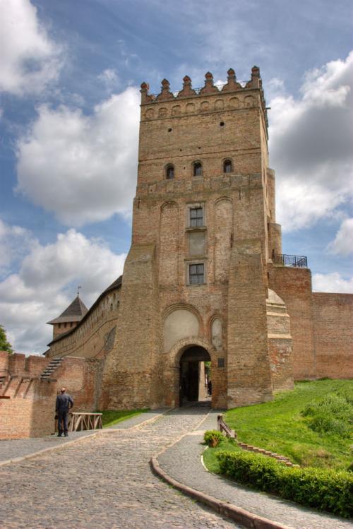 Символ города - замок Любарта