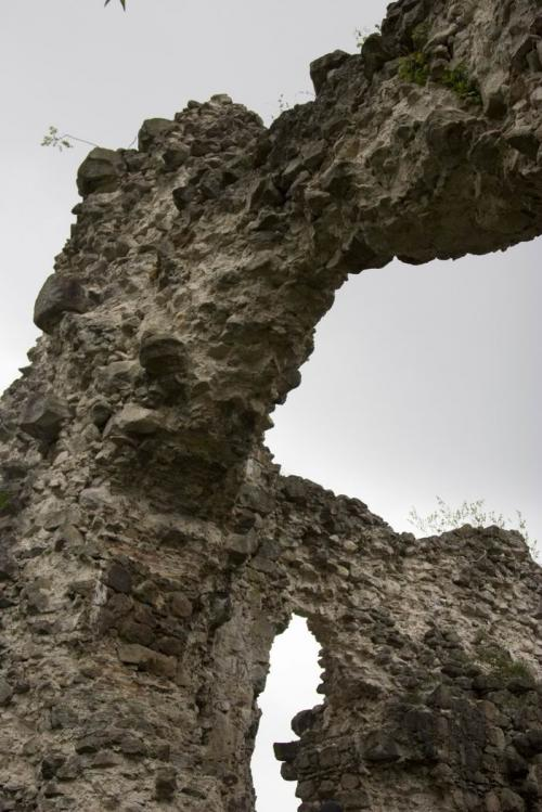 Templar castle ruins