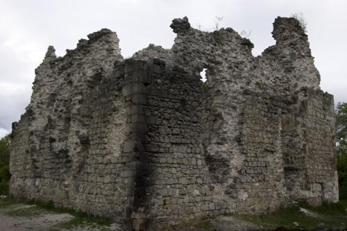 Руїни замку тамплієрів