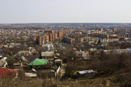 View from Ivanova hill
