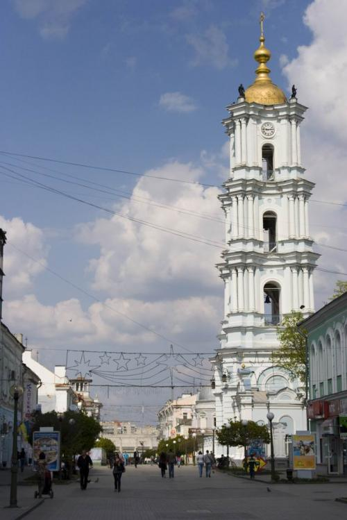 Belltower of the Holy Transfiguration Cathedral