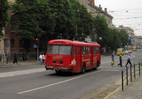 Тернопольский ретро-троллейбус