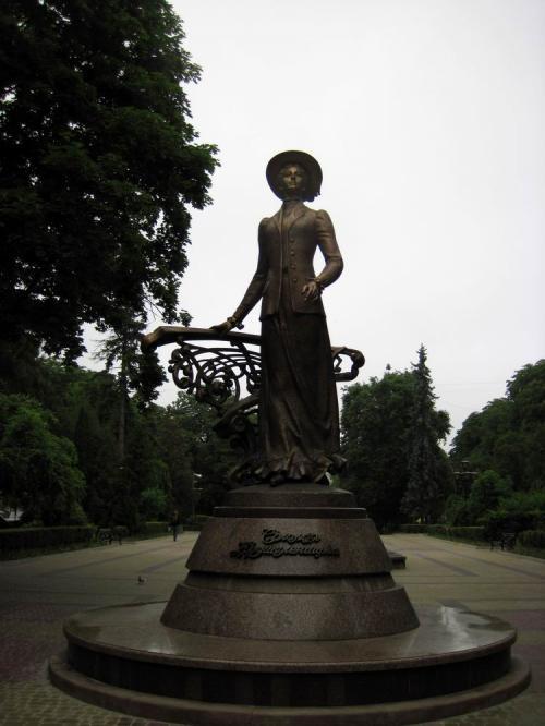Новий пам'ятник у місті - Соломії Крушельницькій