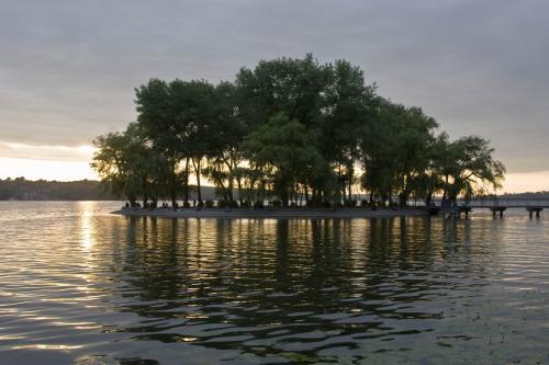 Острів Закоханих на Тернопільському ставі