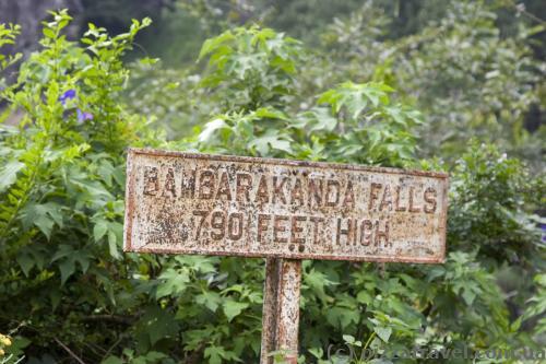 Водопад Бамбараканда