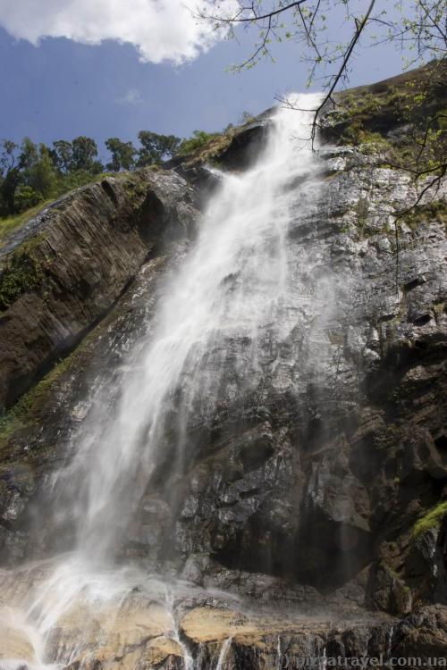 Водопад Диалума