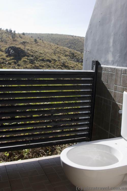 Эко-туалет на плато Хортон