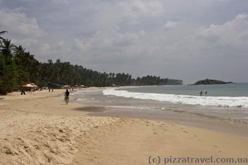 Пляж Мирисса