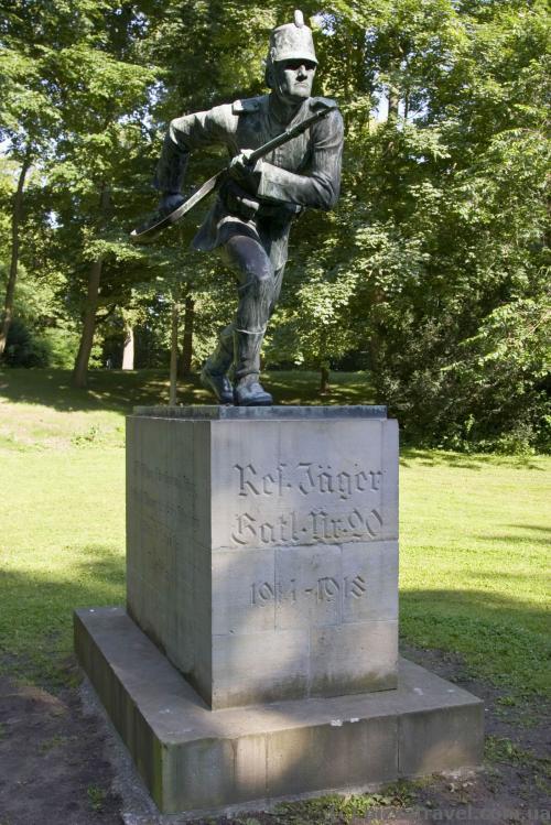 Памятник подразделению немецкой армии, которая воевала в Карпатах в годы Первой Мировой Войны.
