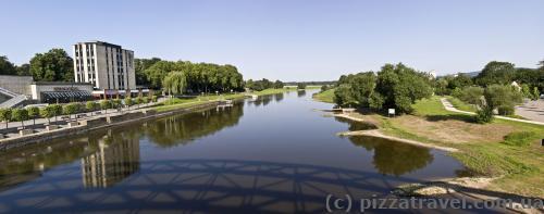 Река Везер в Ринтельне