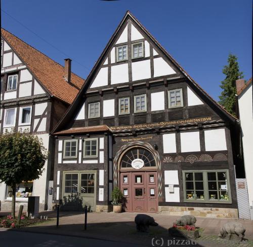 Три поросенка на Brennerstrasse 14 напоминают о том, что здесь был свиной рынок с 1740 по 1969 годы.