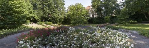 Парк, сооруженный на месте бывшей крепости (Blumenwall)