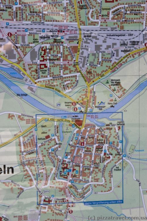 Карта Ринтельна