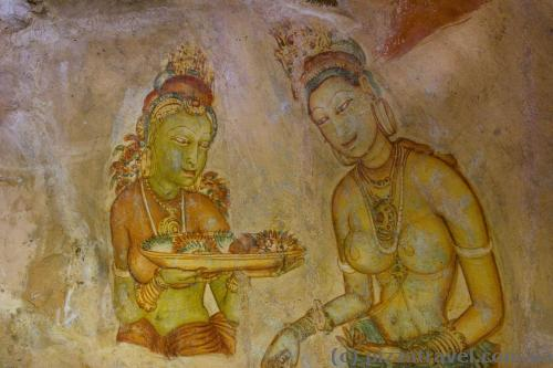 Paintings at Sigiriya