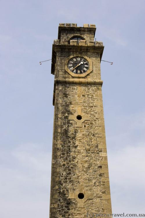 Clock tower at the Galle Fort
