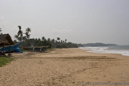 Beach in Kosgoda