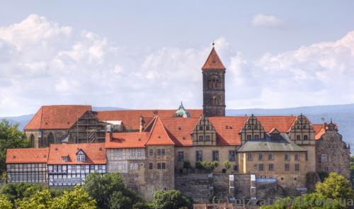 Замок у Кведлінбурзі