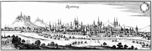 Кведлінбург у 17 столітті