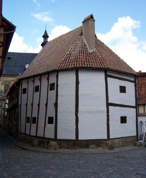 The oldest house in East Germany (first half of the 14th century)