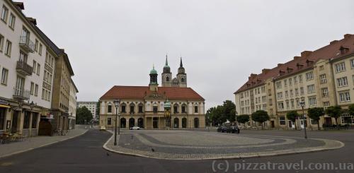 Рыночная площадь Магдебурга