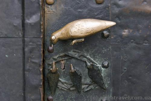 Дверная ручка в Кафедральном соборе Магдебурга