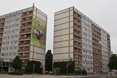 Такі будинки можна знайти за 200 метрів від ринкової площі