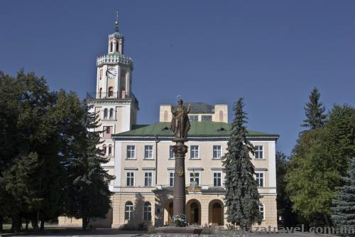 Town Hall of Sambir