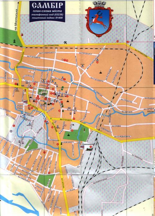 Map of Sambir