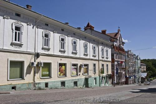 Houses on the Truskavetska Street