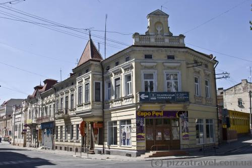 Architecture of Drohobych