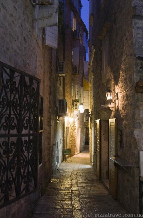 Будва - старый город