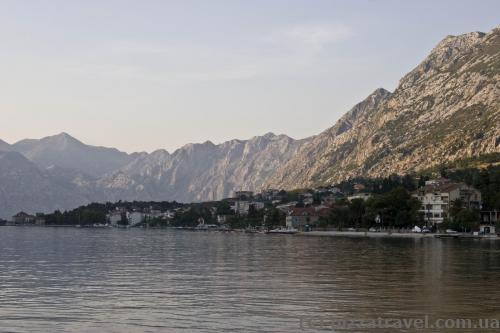Sunset in Kotor