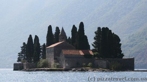 Island near Perast
