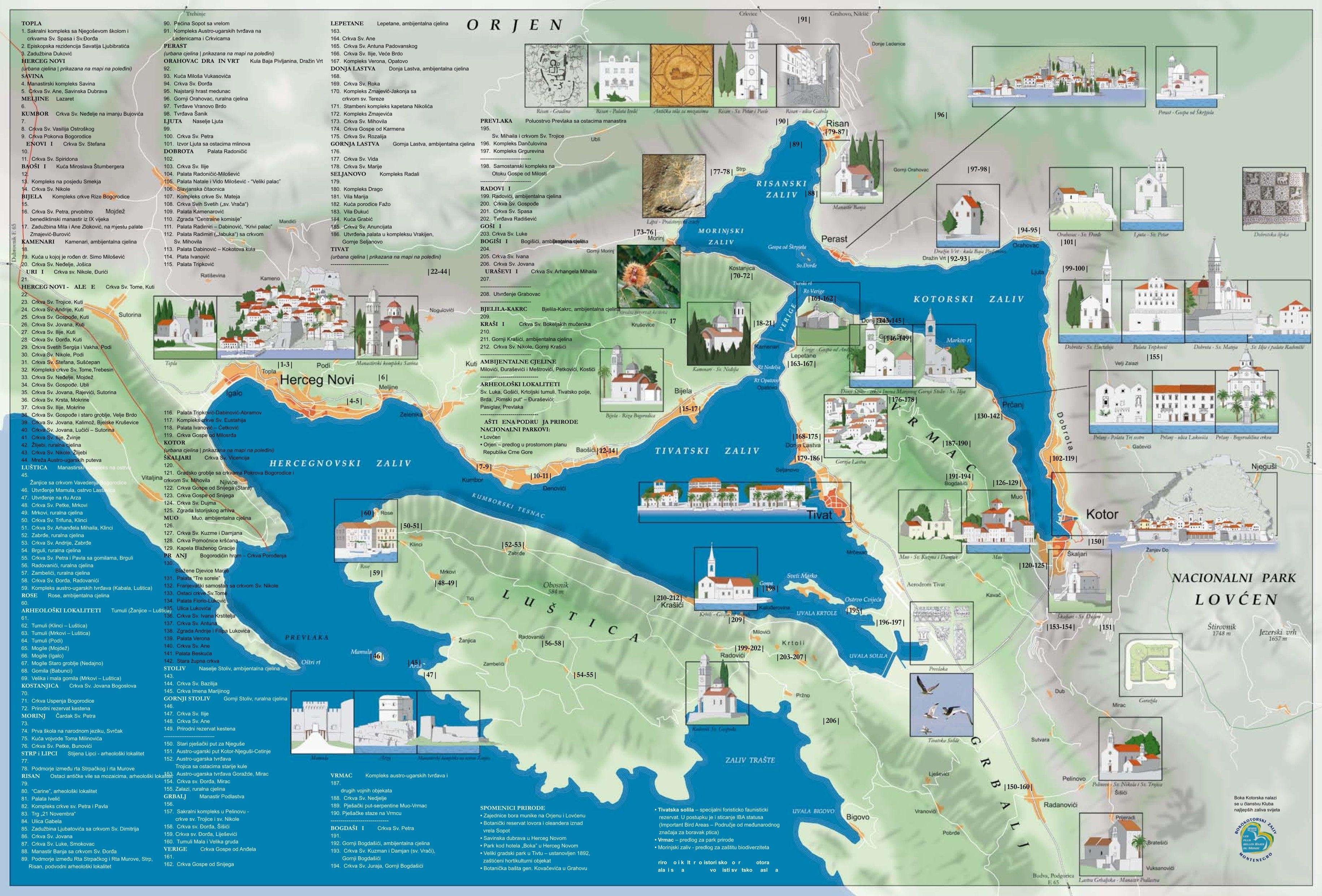 Bay of Kotor (Boka Kotorska) - Montenegro - Blog about