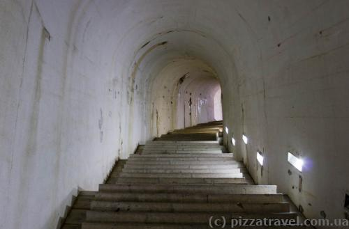 Going up to the monastery