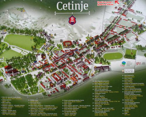 How to get to the Lovcen National Park from Cetinje