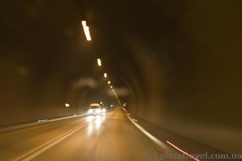 Платный тоннель от побережья к Скадарскому озеру