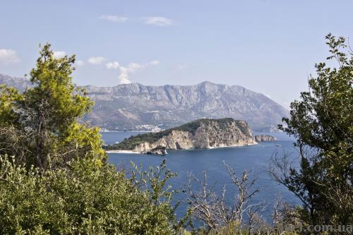 St. Nicholas island view