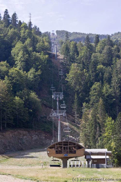Cableway in Kolasin