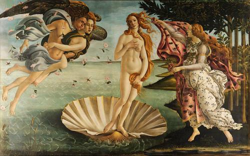 Рождение Венеры (Боттичелли, 1482-1486)