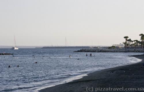 Пляж у Лімасолі
