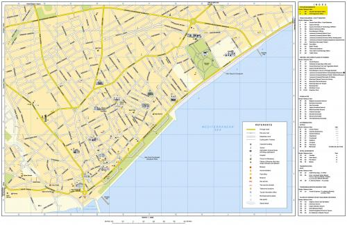 Map of Limassol