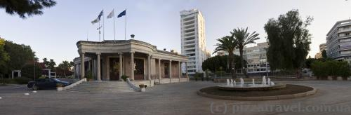 Nicosia Municipality building at the Eleftheria Square