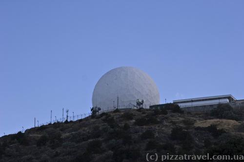 Антенна на вершине горы Олимп